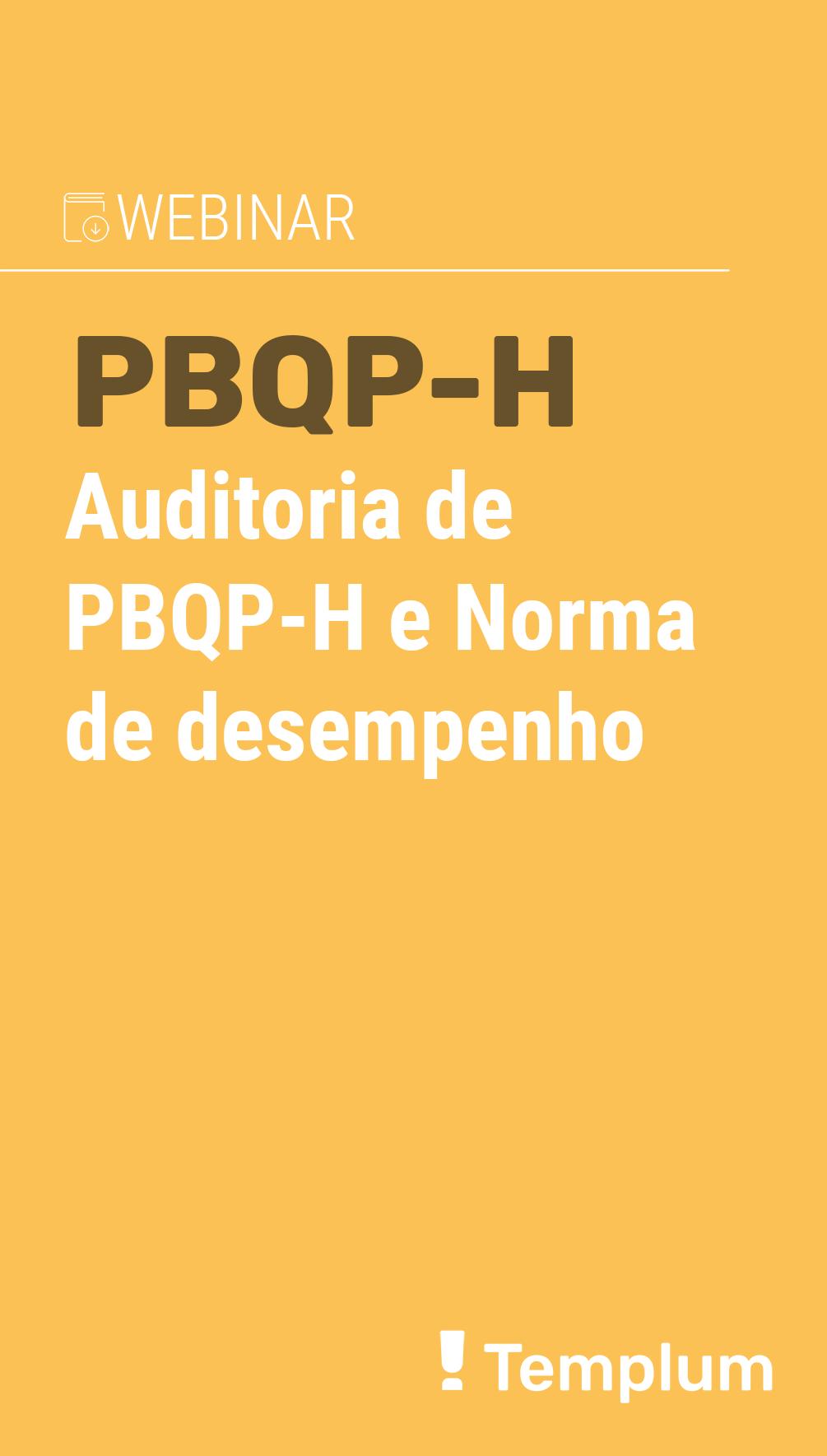 norma pbqp-h para