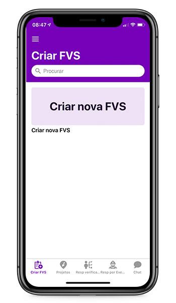 aplicativo fvs para construtoras